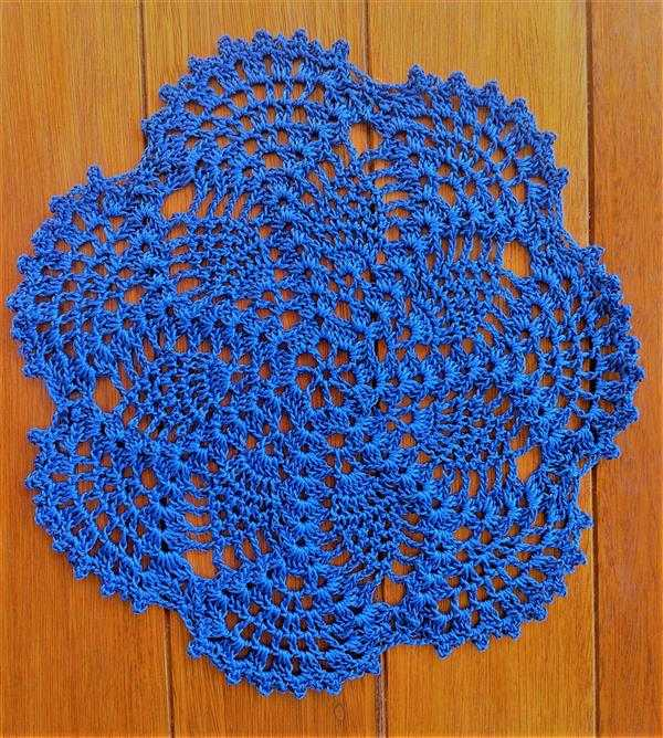 sousplat azul marinho