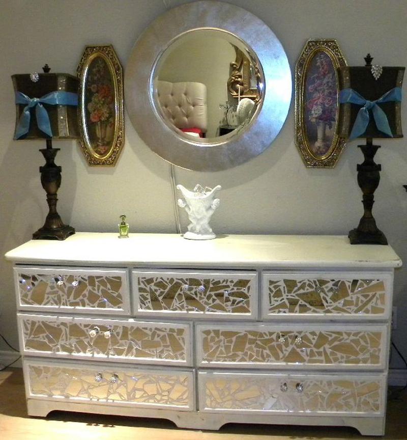 espelho decorado tutorial
