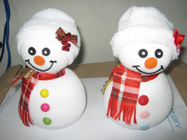 tutorial boneco de neve