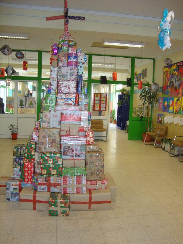 arvore natalina decorada