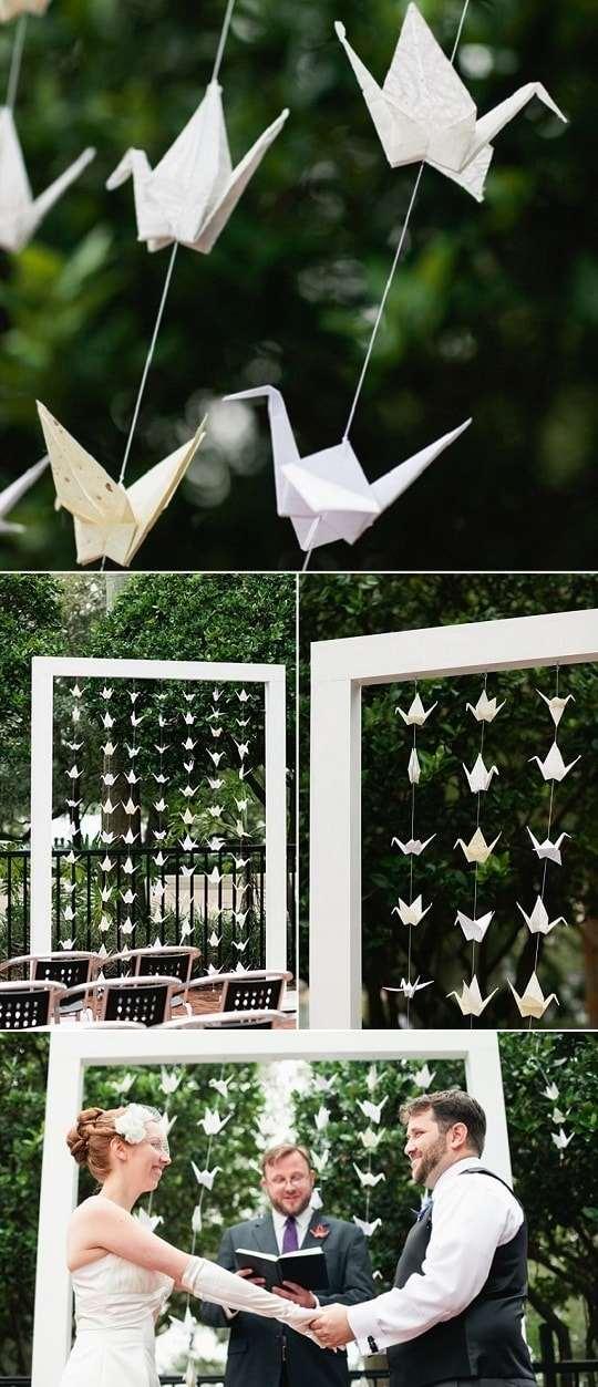 decoração de casamento simples a tarde