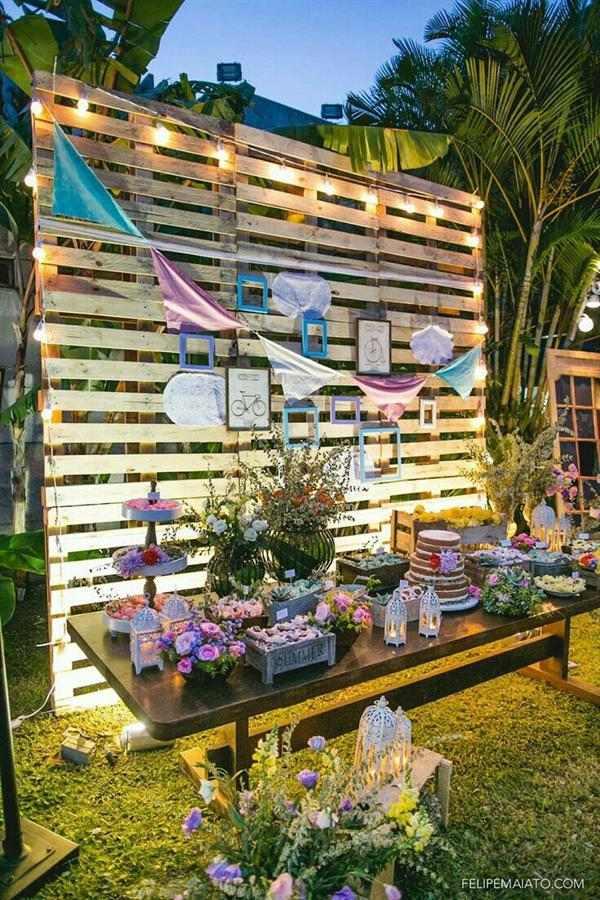decoração de casamento simples passo a passo