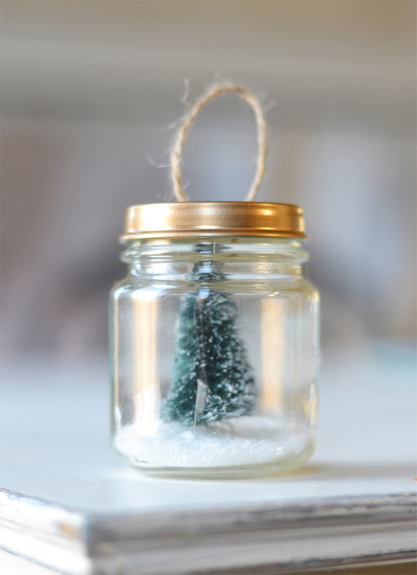 enfeite natalino reciclado pote