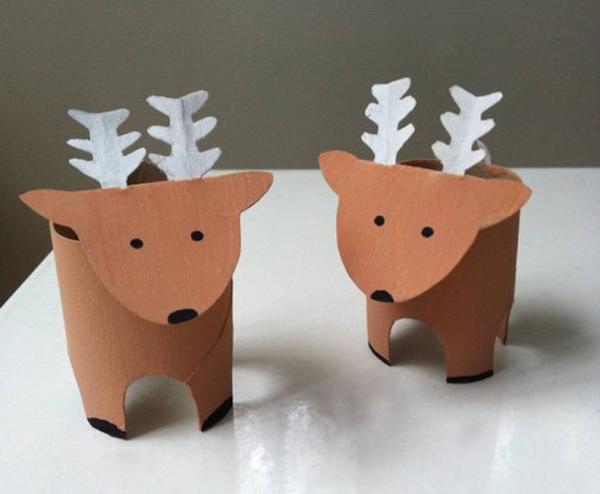 enfeite natalino reciclado rena