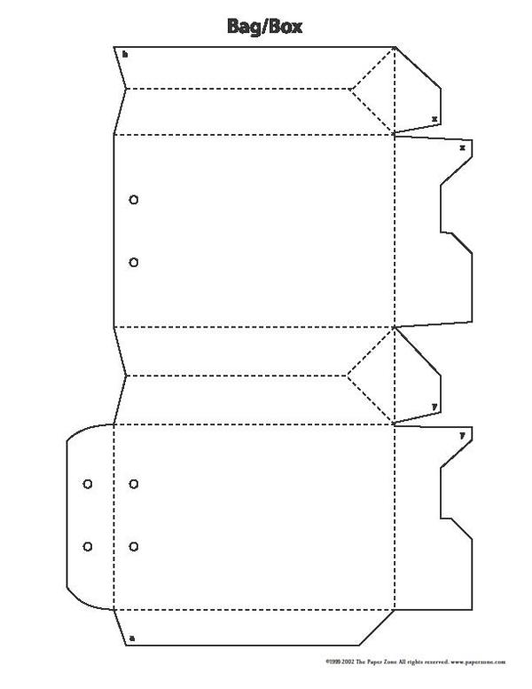 sacolinha de papel simples