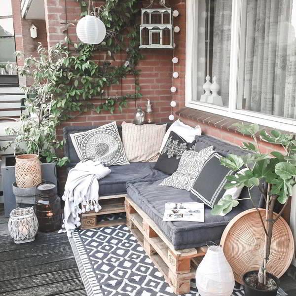 ideias para sofá de palete