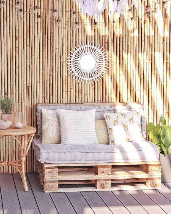 ideia sofá de palete