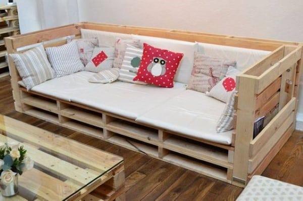 sofa de palete imagem