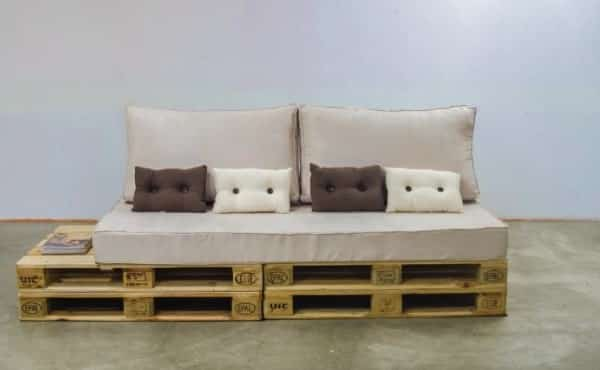 sofa de palete retratil