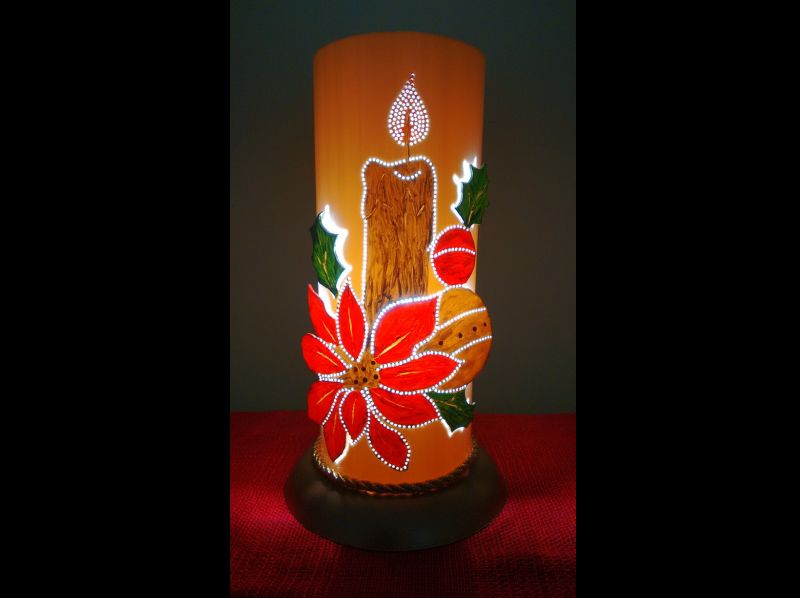 luminaria de pvc natal