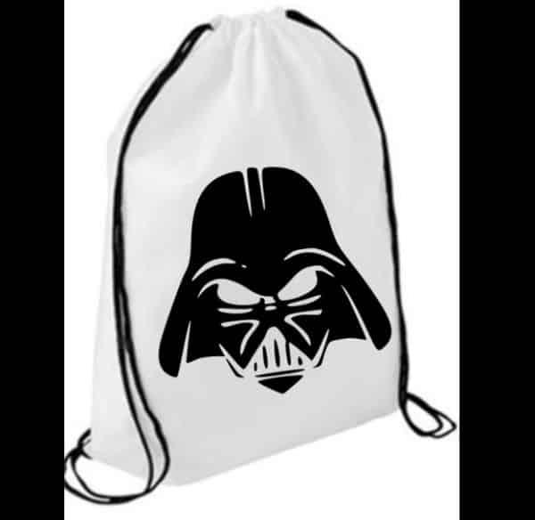 mochila tipo saco carimbada