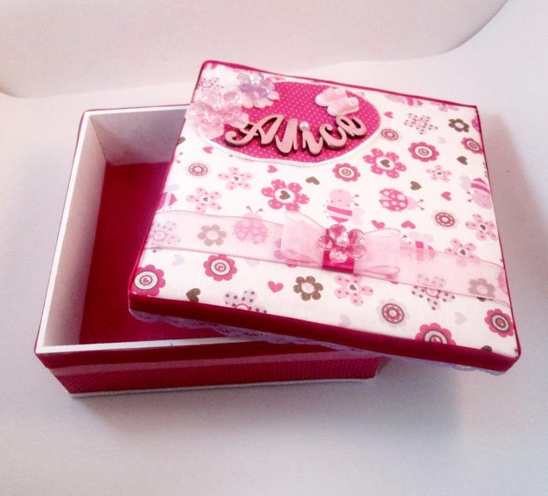 caixa decorada tutorial