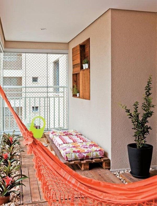 moveis em paletes para varanda