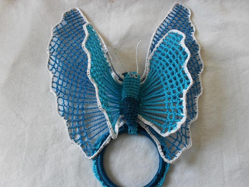porta pano de prato borboleta