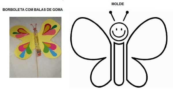 borboleta volta as aulas