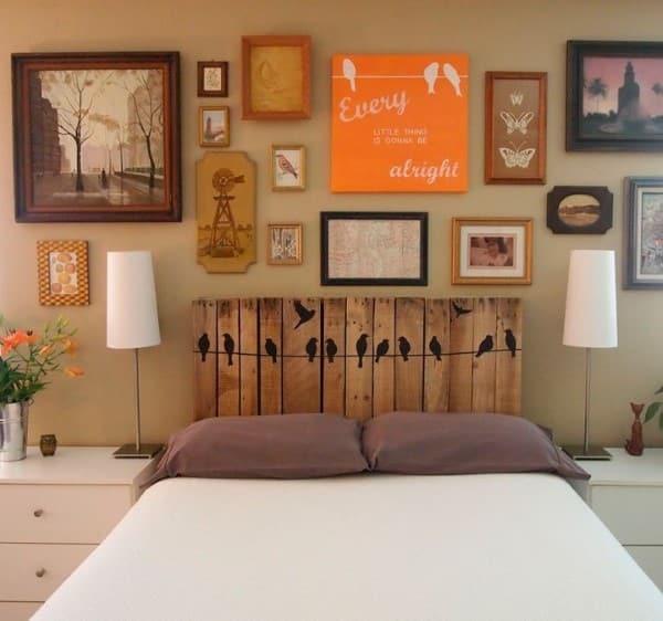cabeceira de cama de casal personalizada