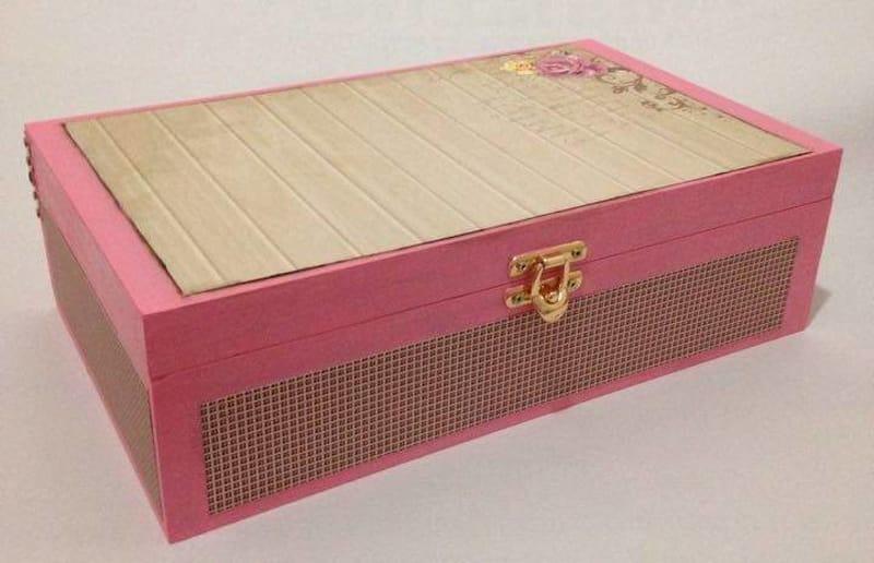 caixa decorada personalizada