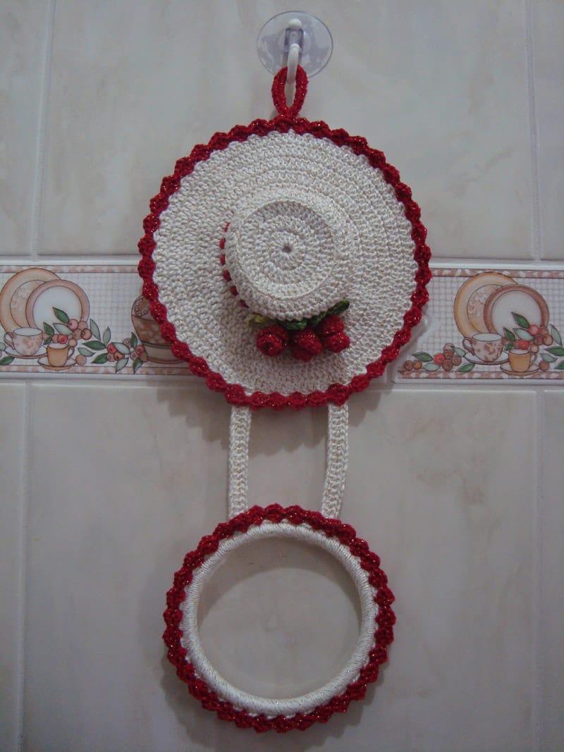 porta pano de prato chapeu