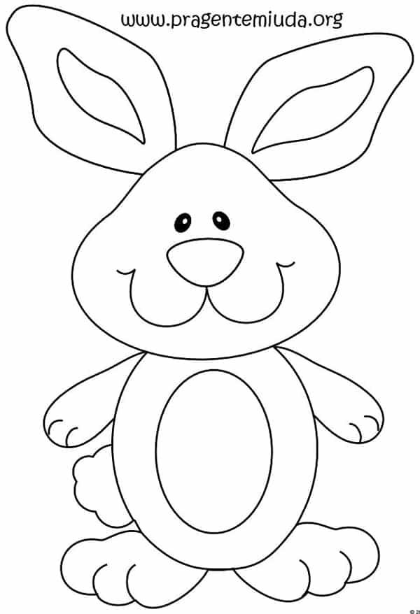 molde de coelho em eva 20 imagens para imprimir artesanato passo