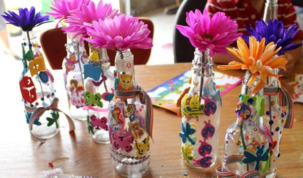 garrafa para o carnaval infantil