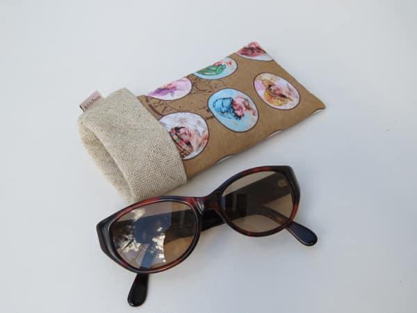 case para óculos comum