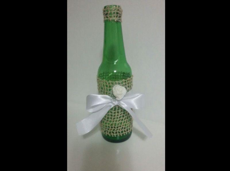 garrafa decorada comum