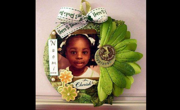 porta fotos de cd com folhas