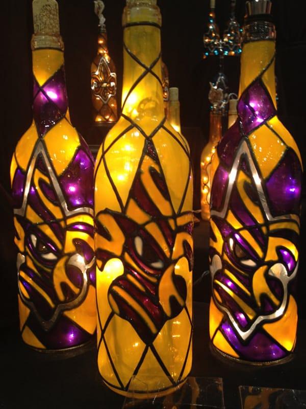 garrafa para o carnaval com tinta