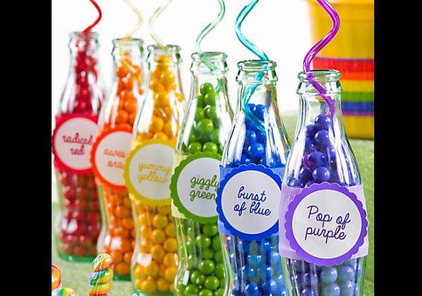 garrafa para o carnaval com contas