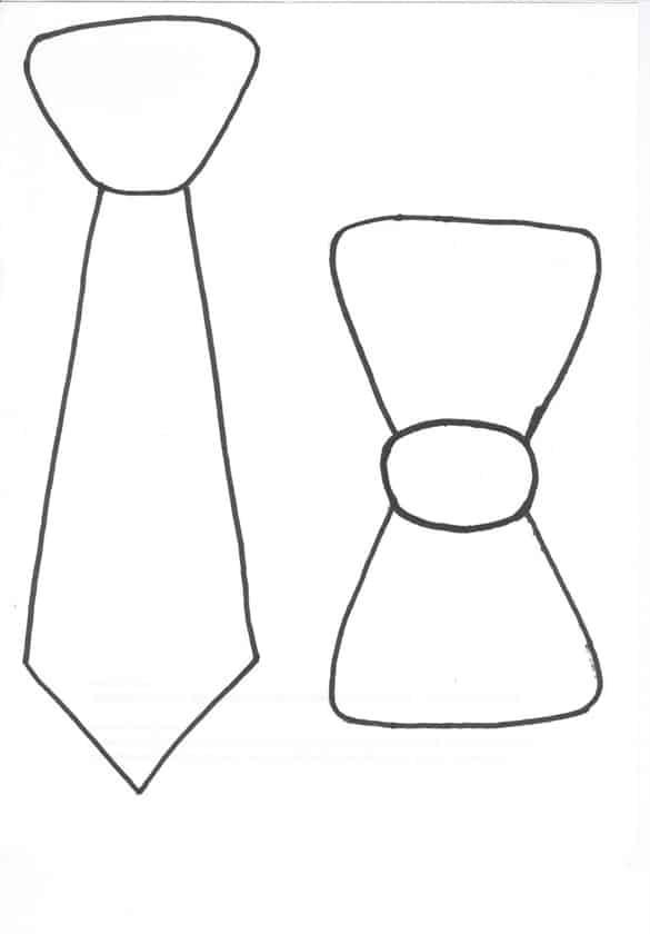 Molde De Gravata Para Imprimir 30 Modelos Artesanato Passo A Passo