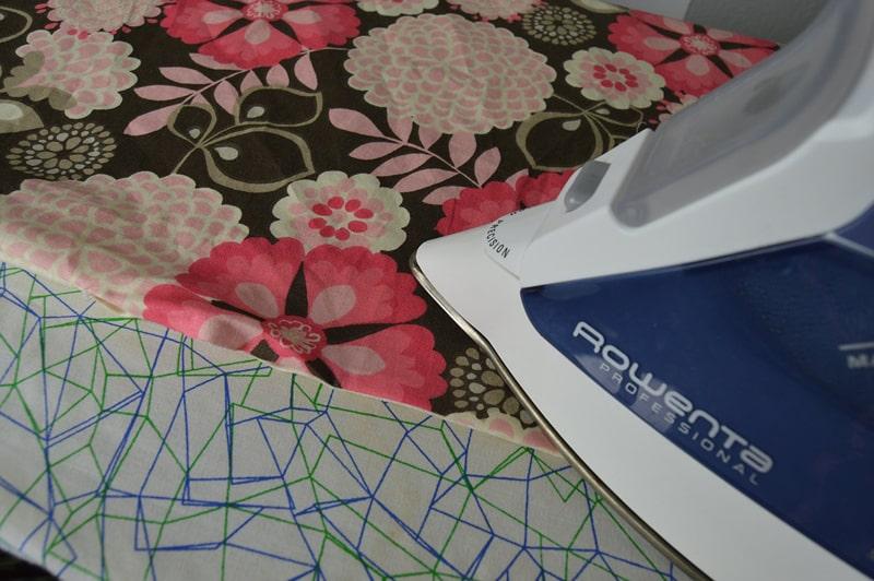 passo a passo guardanapo com tecido