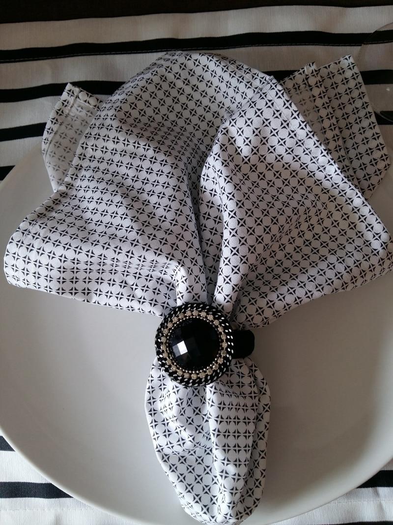guardanapo com tecido com estampa