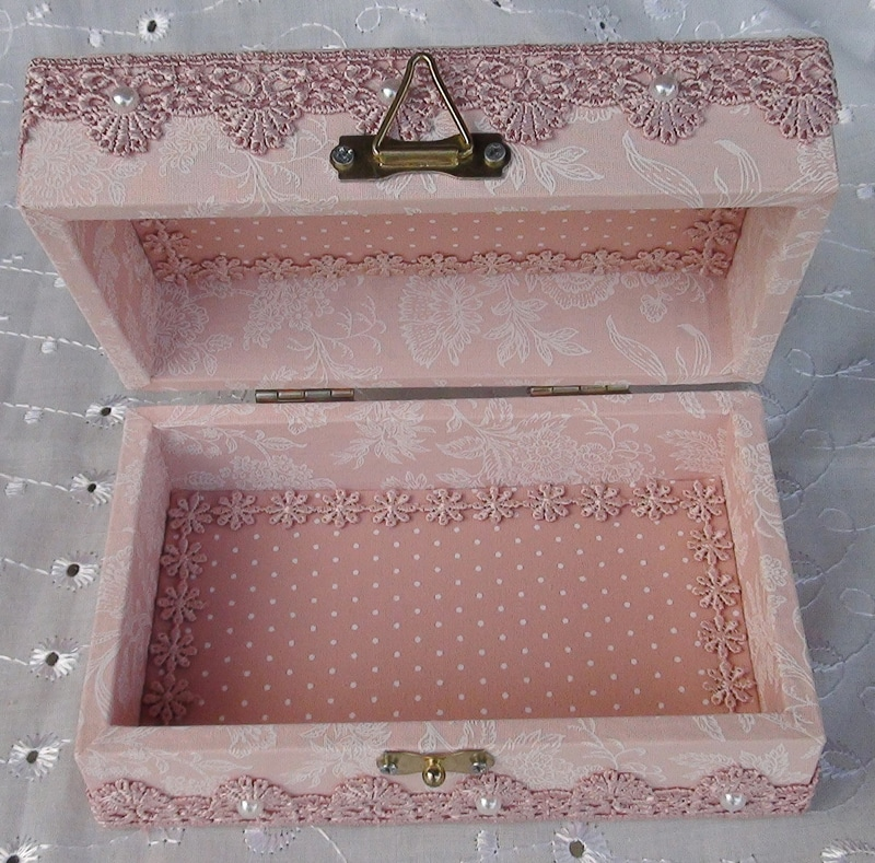 caixa decorada chique
