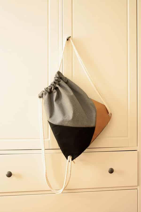 como fazer mochila tipo saco