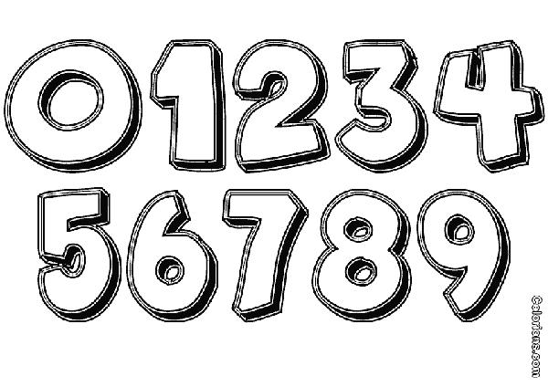 molde de numeros com sobra