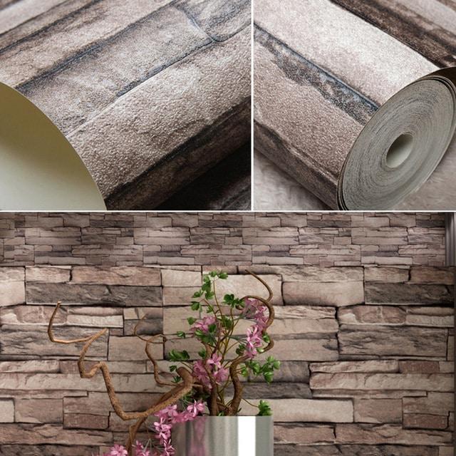 decoração com papel de parede adesivo