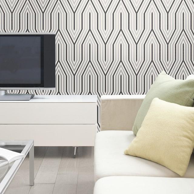 como fazer decoração com papel de parede