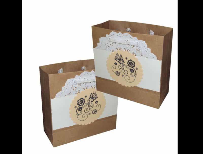 sacolinha de papel personalizada
