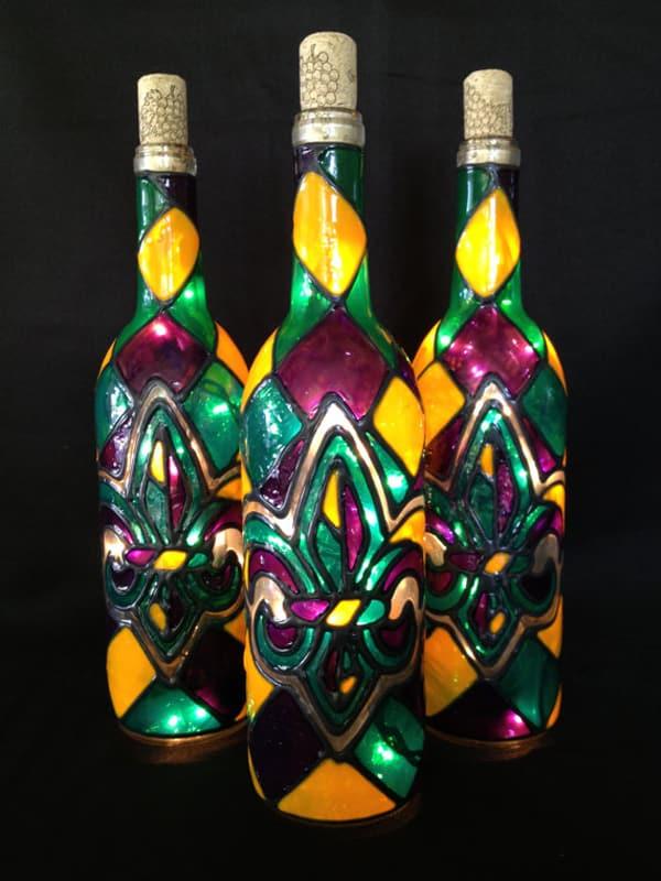 garrafa para o carnaval com psica psica