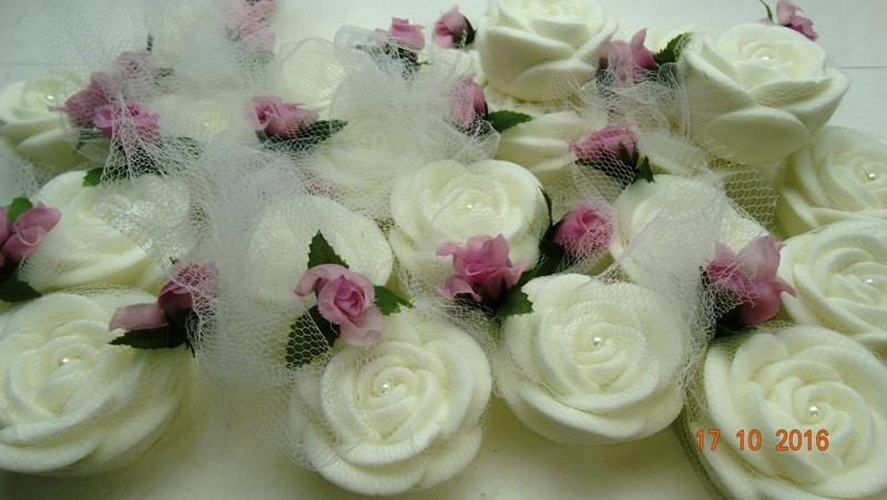 sache perfumado flor