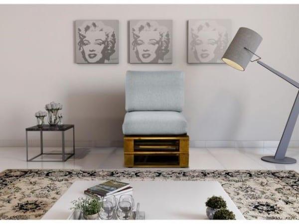 sofa de 1 lugar de palete