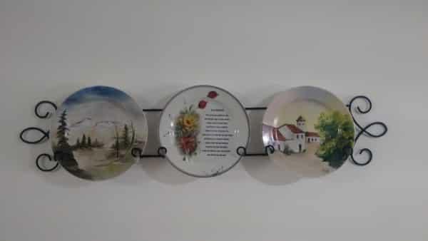 suporte para pratos de parede
