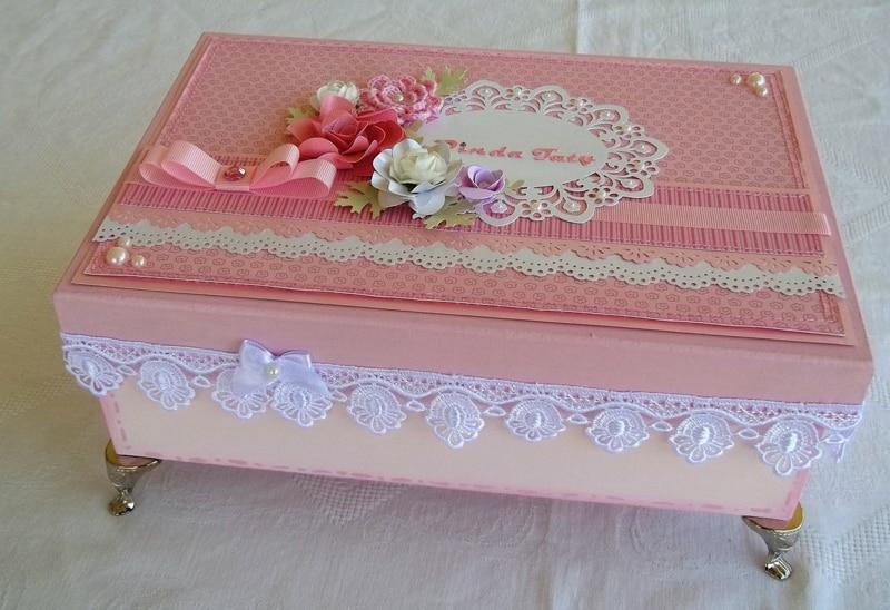 caixa decorada como fazer
