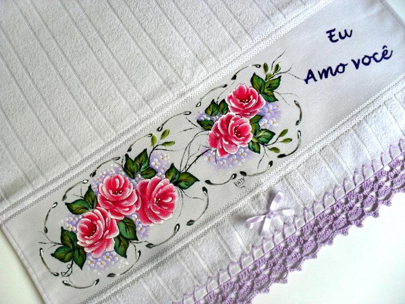 rosas pintadas pink