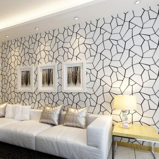 decoração com papel de parede sofa