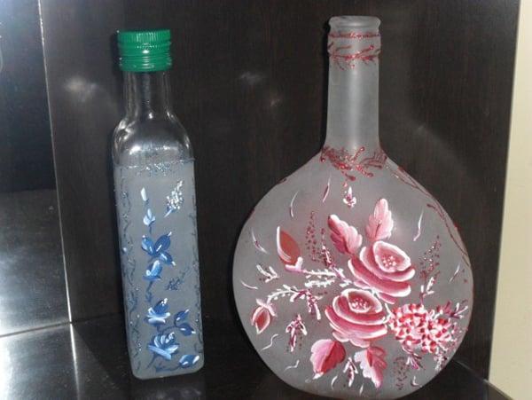 vidro fosqueado pintura