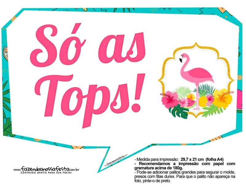 Decoração Festa Do Flamingo E Abacaxi Artesanato Passo A