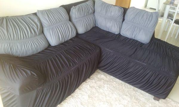 capa de sofa grafite
