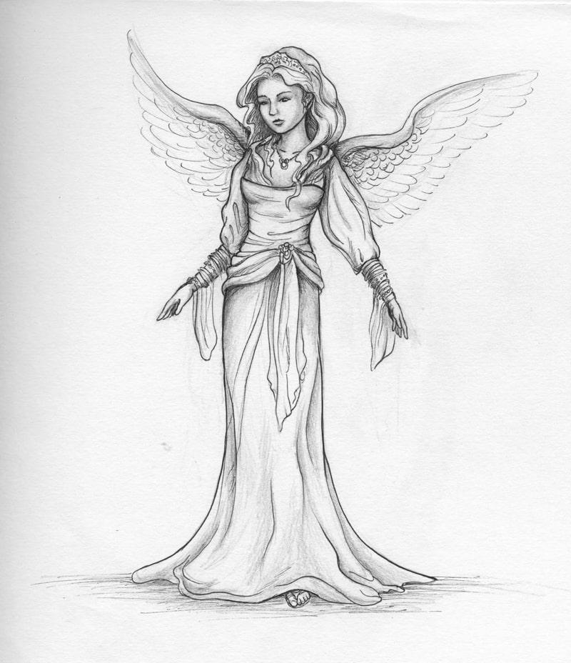 imagem de anjo facil