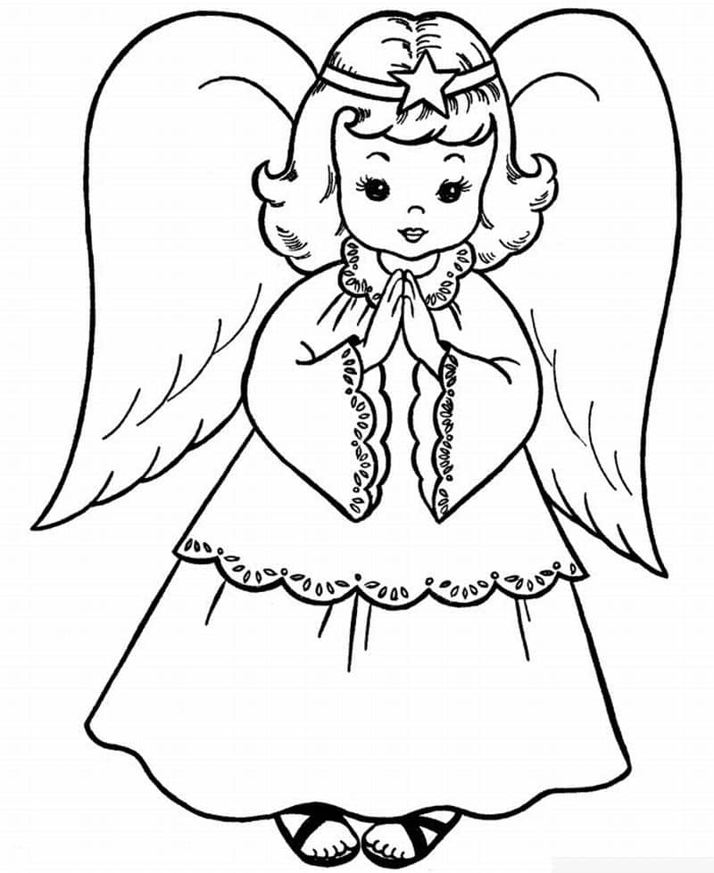 imagem de anjo fofa
